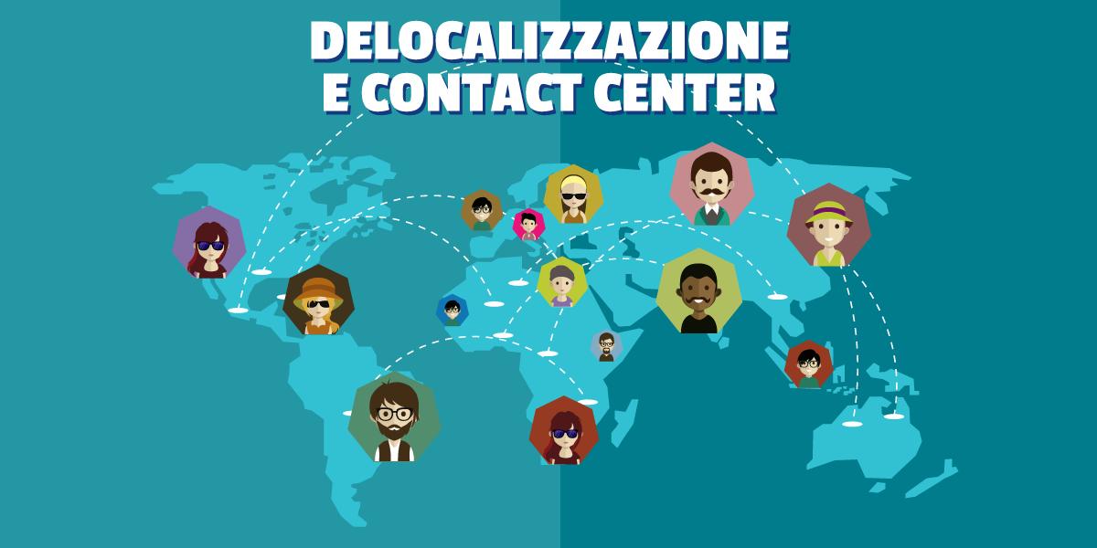 Linetech Italia - Blog - Copertina articolo Offshoring/Delocalizzazione e Contact Center