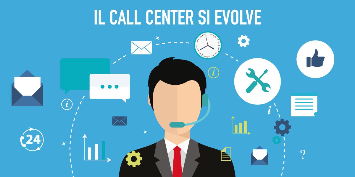 Linetech Italia - Blog - Copertina articolo Il call center si evolve